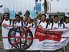 Demonstration in Indonesia against World Bank climate finance