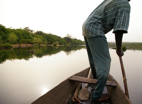 Guinea canoe