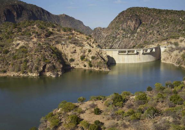 The Turkwel Gorge Hdroelectric Dam, known as the 'Whitest of White Elephants'