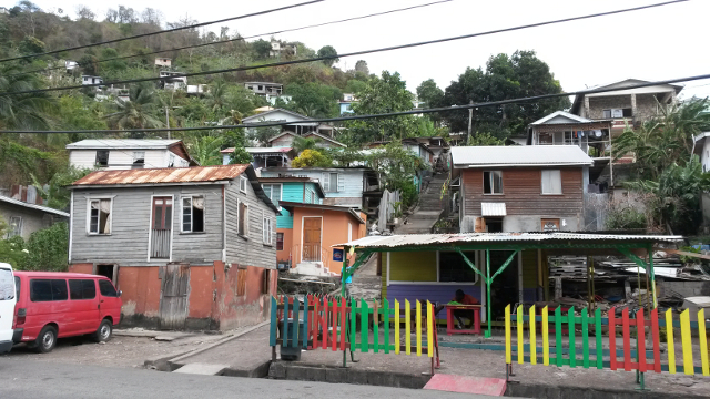 Housing in St George's, Grenada