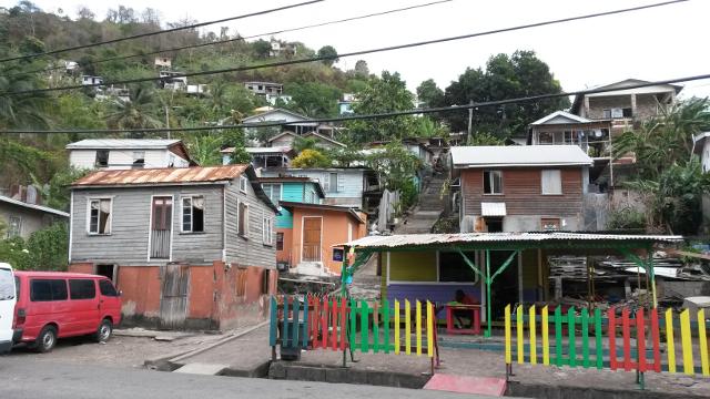 Housing in St George's, Grenada