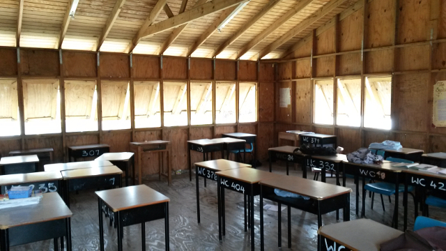 Class room in Grenada secondary school