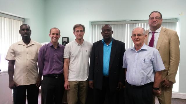 The Caribbean Debt Network meets Grenada Minister for Economic Development Oliver Joseph along with Jubilee Debt Campaign UK, Jubilee USA and Erlassjahr.de (Jubilee Germany)