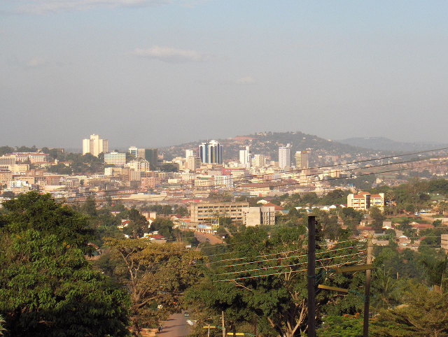 Kampala, capital of Uganda / Nielsr