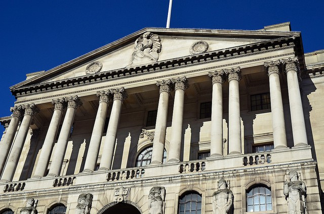 The Bank of England. Photo: George Rex/Flickr