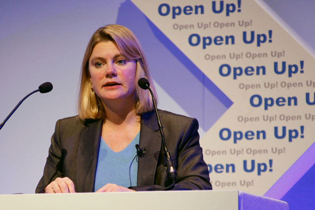 Justine Greening, Secretary of State for International Development. Photo: Russell Watkins/DFID