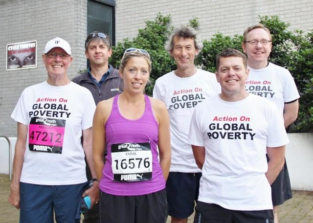 The 'Professorial Team' (l-r): Prof Bernard Golding; Dr Phil Ansell, Dean of Sport; Prof Emma Stevenson; Prof David Leat (Team Captain); Prof Steve Vincent; Prof Phil Taylor;