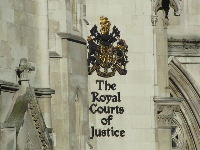 The Royal Courts of Justice, including the High Court, London. Photo: Dan Perry/Flickr