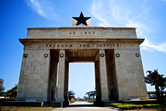 Independence Arch in Accra, capital of Ghana (Joe Ronzio / Flickr)