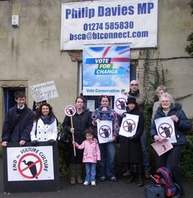 philip-davies-surgery-protest