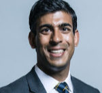Head shot photo of Rishi Sunak